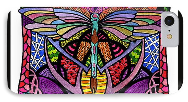 Dragonfly IPhone Case by Lamarr Kramer