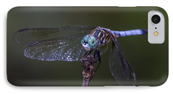 IPhone Case featuring the photograph Dragonfly by Paula Porterfield-Izzo