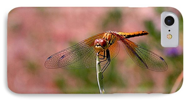 Dragonfly Phone Case by Rona Black