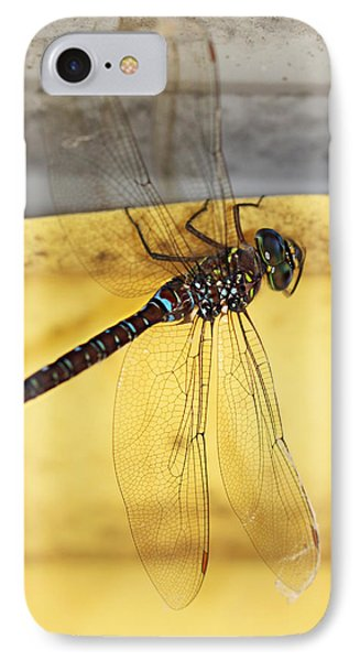 IPhone Case featuring the photograph Dragonfly Web by Melanie Lankford Photography