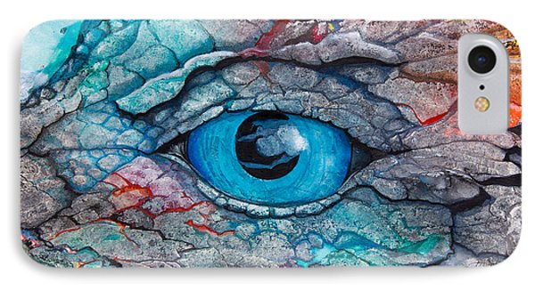 Dragon's Eye IPhone Case by Patricia Allingham Carlson