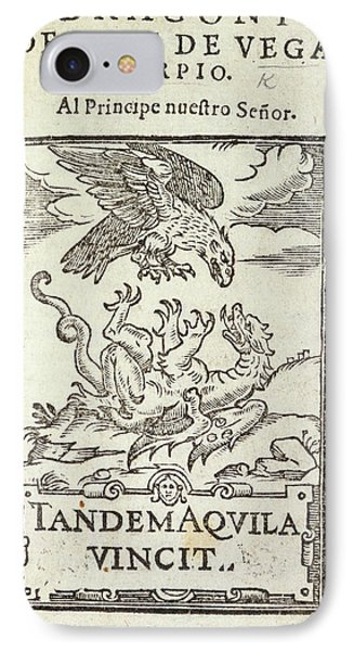 Drake-dragon IPhone Case by British Library