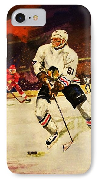 Drama On Ice Phone Case by Al Brown