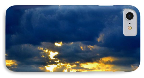 Dramatic Clouds IPhone Case by Luther Fine Art