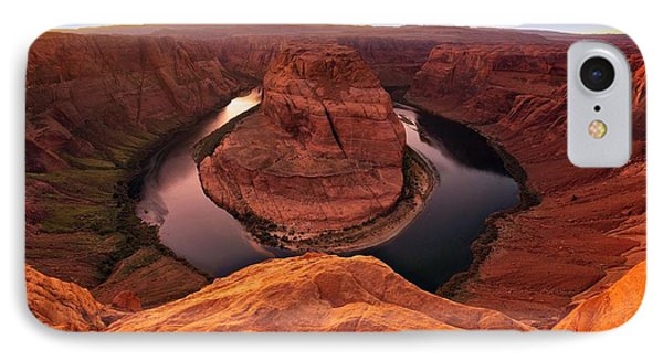 IPhone Case featuring the photograph Dramatic River Bend by David Andersen