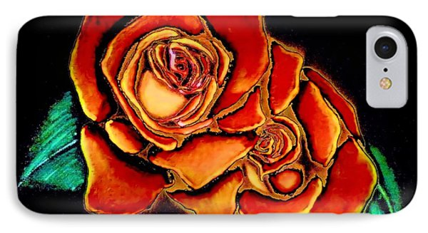 Dramatic Roses IPhone Case