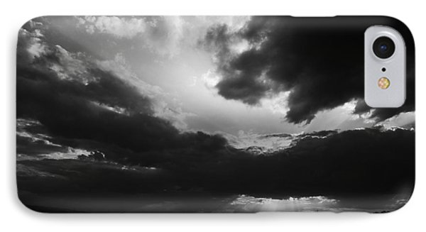 Dramatic Sky IPhone Case by Stefan Dinov