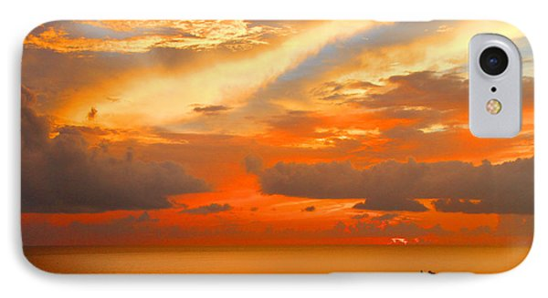 Dramatic Sunset IPhone Case by Mariarosa Rockefeller