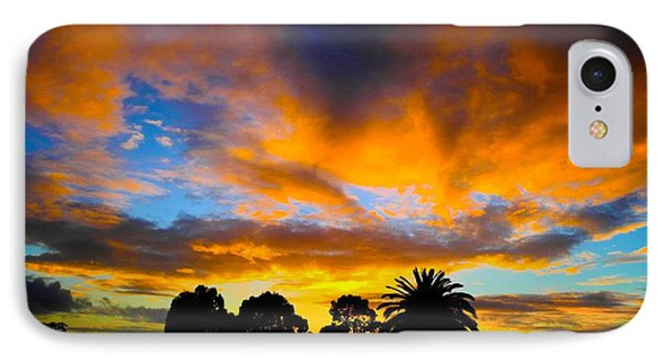 Dramatic Sunset IPhone Case by Mark Blauhoefer