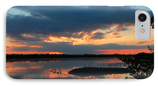 Dramatic Sunset IPhone Case by Rosalie Scanlon