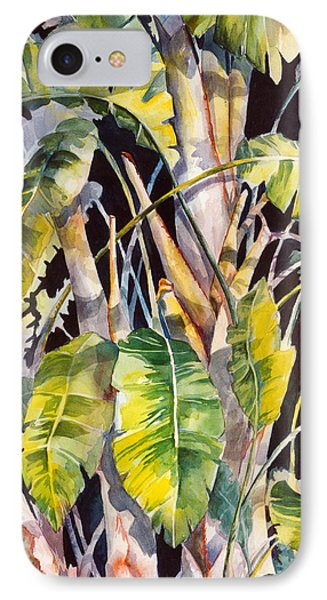 Dramatic Tropics IPhone Case by Roxanne Tobaison