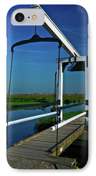 IPhone Case featuring the photograph Drawbridge At Zaanse Schans by Jonah  Anderson