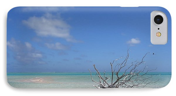 Dream Atoll  IPhone Case by Jola Martysz