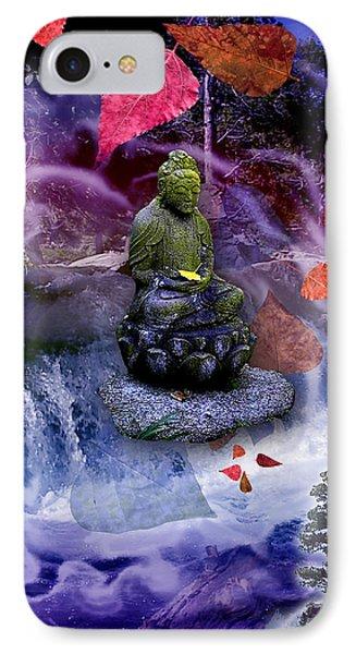 Dream Buddha IPhone Case by Alixandra Mullins