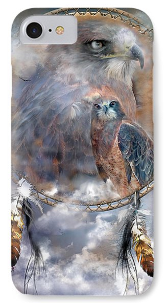 Dream Catcher - Hawk Spirit IPhone 7 Case