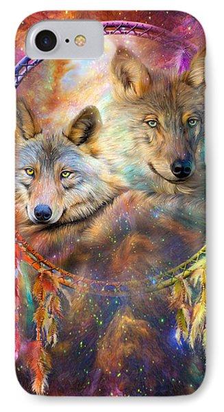 Dream Catcher - Wolf Spirits IPhone Case