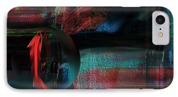 IPhone Case featuring the digital art Dream Catcher by Yul Olaivar