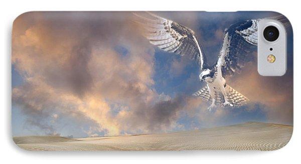 Dream Hawk IPhone Case by Georgiana Romanovna