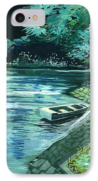 Dream Lake IPhone Case by Anil Nene