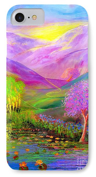 Dream Lake IPhone Case by Jane Small