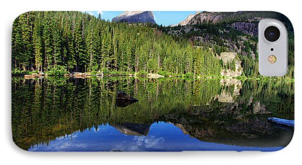 Dream Lake Rocky Mountain National Park Phone Case by Wayne Moran
