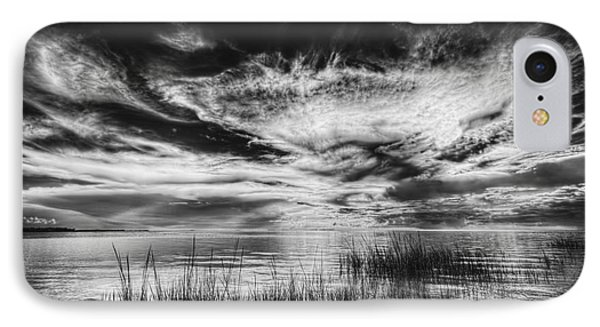 Dream Of Better Days-bw IPhone Case by Marvin Spates