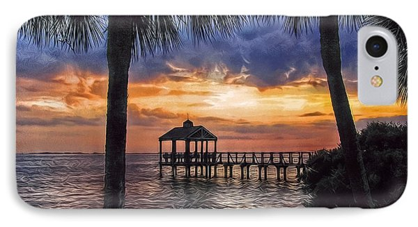 IPhone Case featuring the photograph Dream Pier by Hanny Heim
