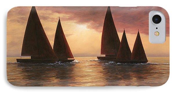 Dream Sails Phone Case by Diane Romanello