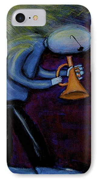 IPhone Case featuring the painting Dreamers 99-001 by Mario Perron
