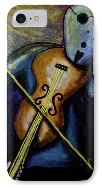 IPhone Case featuring the painting Dreamers 99-002 by Mario Perron