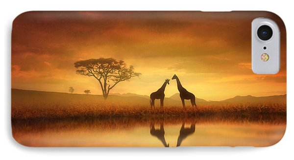 Dreaming Of Africa IPhone 7 Case by Jennifer Woodward