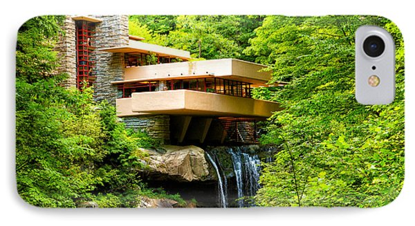 Dreaming Of Fallingwater 3 IPhone Case by Rachel Cohen