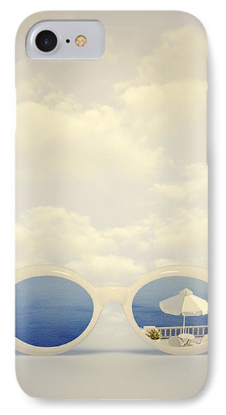 Dreaming Of Holidays IPhone Case by Joana Kruse