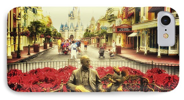 Dreaming Of Paradise Walt Disney World Phone Case by Thomas Woolworth