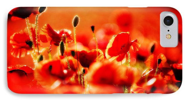IPhone Case featuring the photograph Dreaming Of Poppies by Meirion Matthias