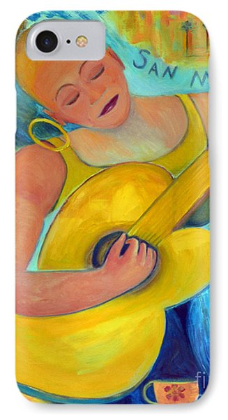 Dreaming Of San Miguel Phone Case by Karen Francis