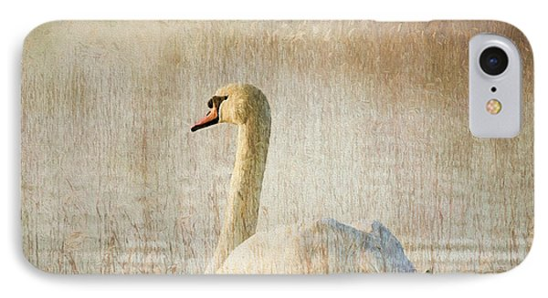 Songs Of A Swan IPhone Case by Georgiana Romanovna