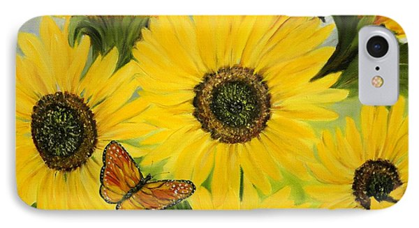 IPhone Case featuring the painting Dreaming Of Summer by Carol Sweetwood