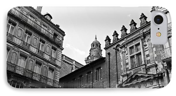 IPhone Case featuring the photograph Dreaming Of Toulouse by Cendrine Marrouat