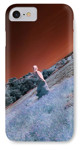 Dreaming Princess IPhone Case by Rebecca Parker