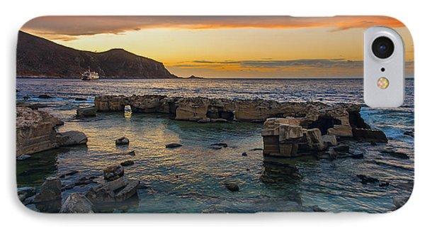 Dreaming Sunset IPhone Case by Alfio Finocchiaro