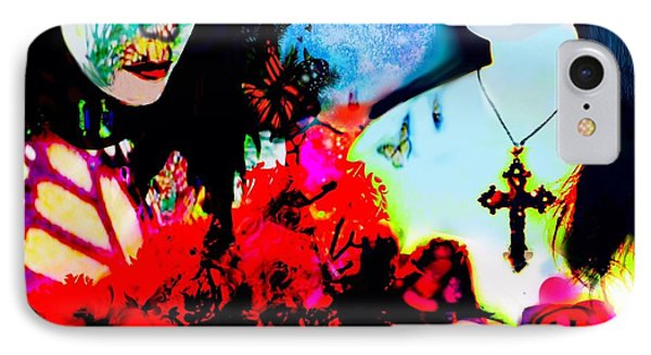 IPhone Case featuring the digital art Dreaming To Fly by Diana Riukas