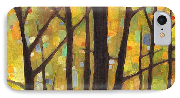 Dreaming Trees 1 IPhone Case by Hailey E Herrera