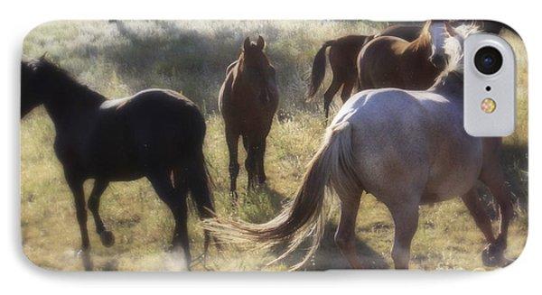 IPhone Case featuring the photograph Dreaming Wild Horses by Kate Purdy