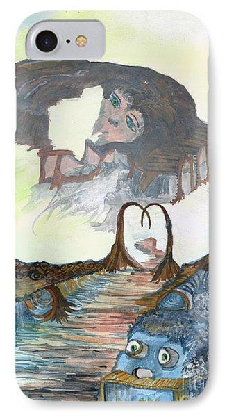 Dreamland IPhone Case by Angela Pelfrey