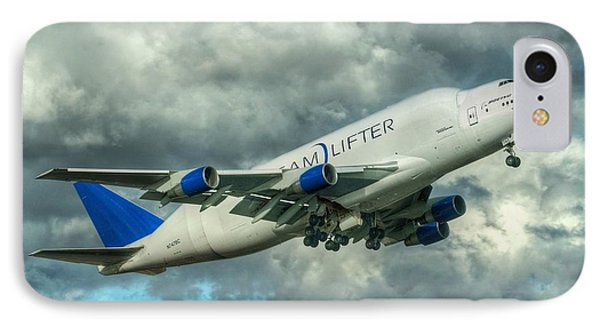 IPhone Case featuring the photograph Dreamlifter Takeoff by Jeff Cook