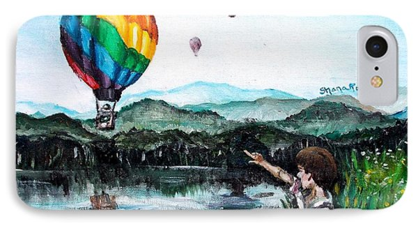 IPhone Case featuring the painting Dreams Do Come True by Shana Rowe Jackson