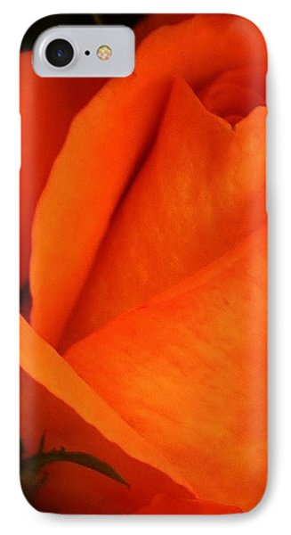 Dreams Of Orange IPhone Case by Bruce Bley