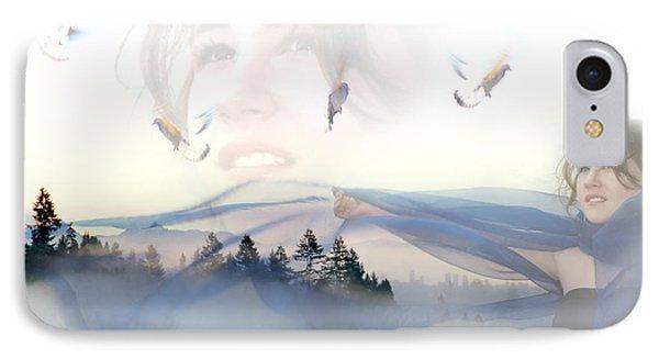 Dreams Soar Phone Case by Lisa Knechtel