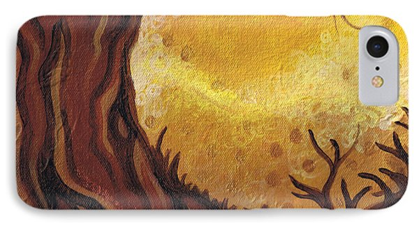 Dreamscape In Fall Tones #1 Of 4 Phone Case by Laura Noel